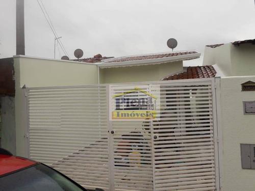 Casa Com 2 Dormitórios À Venda, 95 M² -loteamento Remanso Campineiro - Hortolândia/sp - Ca4350