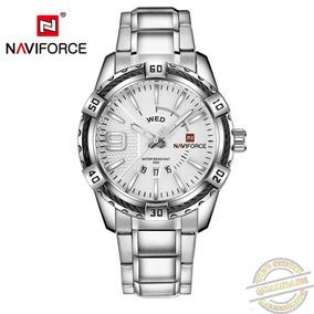 Relógio Masculino De Pulso Naviforce 9117 Luxo Esportivo