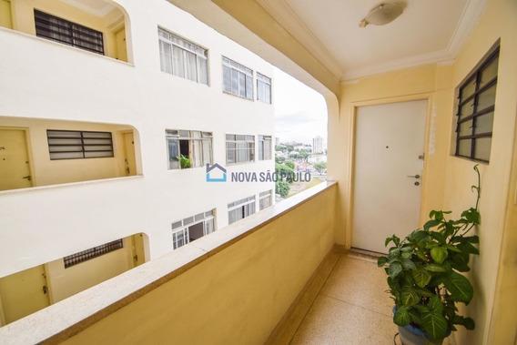 Apartamento No Ipiranga, 2 Dormitórios, 2 Banheiros, Dependência E Vaga Livre E Demarca!!! - Bi25533