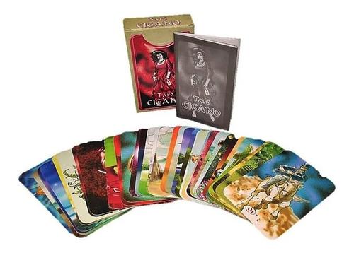 Baralho Taro Cigano 36 Cartas + 1 Livro De Instruções