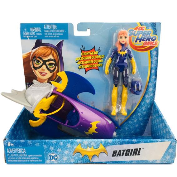 Dc Super Hero Girls Batgirl Con Moto Mattel