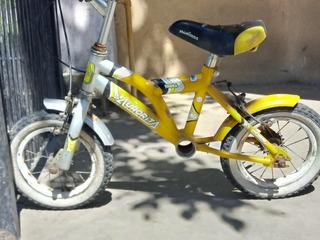 Bicicleta De Balanceo + Kit De Pedales Rodado 12
