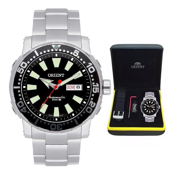 Relógio Orient Masculino Automático 469ss040 P1sx + Pulseira