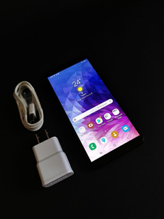 Hotsale Celular Samsung J8 + Plus 3gb 32gb Libre Negro Usado