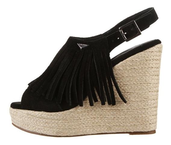 Zapatos Lady Stork Cuero Plataforma Taco Chino Comodisimos