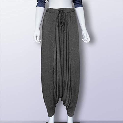 Listha Danza Haren Pantalones Mujer Sueltos Casual Modal Alg Mercado Libre