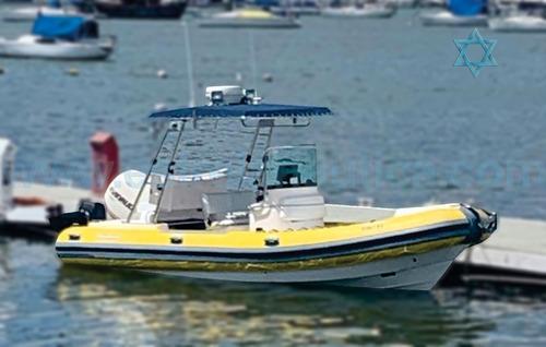 Imagem 1 de 5 de Bote Flexboat 620 Lx Barco Iate N Ferreti Azimut Intermarine