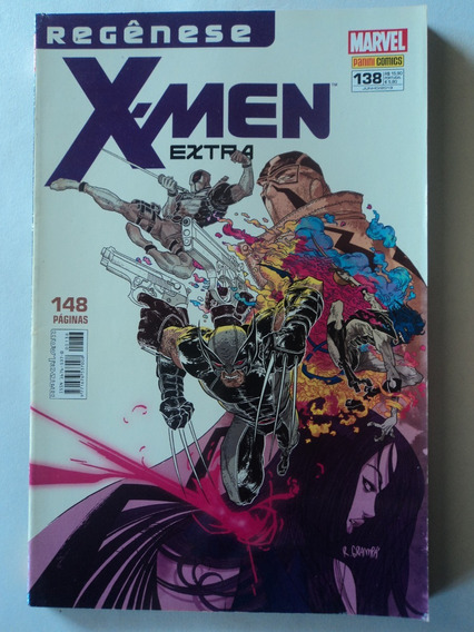 Hq-x-men Extra:marvel#138:panini Comics:regênese:148 Páginas