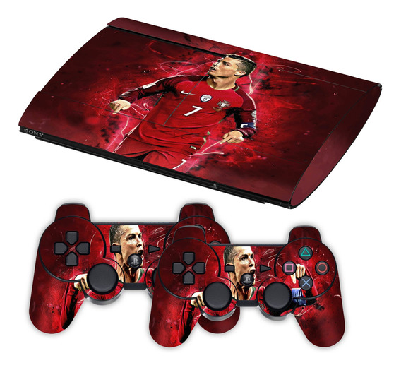 Skin Ps3 Super Slim Cristiano Ronaldo Cr7