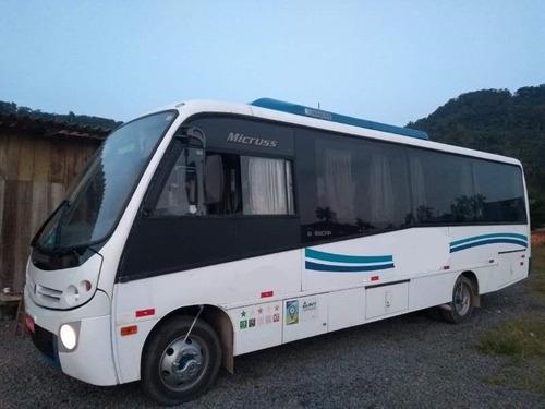 Micro Busscar Micruss Com Wc Mercedes Executivo Seminovo