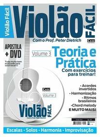 Revista Violão Fácil Vol 3 + Com Dvd