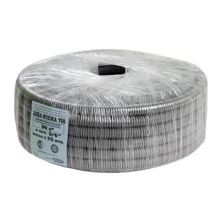 Caño Corrugado 1 Gris 750 Para Loza Norma Iram Rollo 25mt