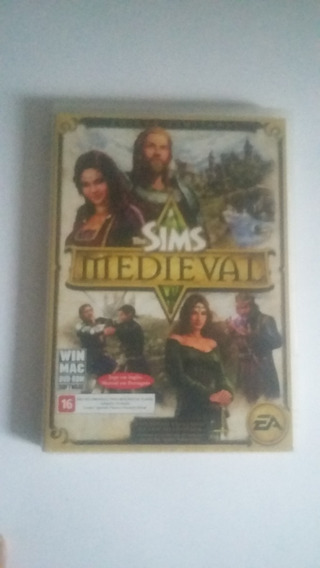 Game Pc The Sims Medieval -dvdrom Original Usado