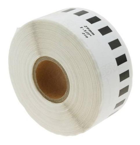 Rollos Etiquetas Adhesivas Impresora Brother Ql 29mm X 30m