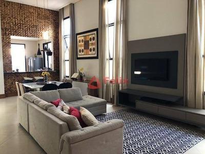 Casa Com 3 Dormitórios À Venda, 178 M² Por R$ 735.000 - Condomínio Pontal Da Amizade - Jardim Jaraguá - Taubaté/sp - Ca1101