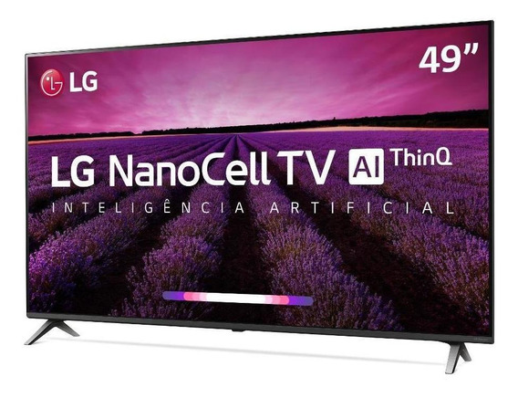 Smart Tv Lg 49 Nano Cell Uhd 4k Smart Magic 49sm8000psa