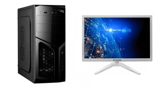 Pc A6 7400k 3.9ghz Apu R5 Ddr3 8gb Ssd 120gb + Monitor 19