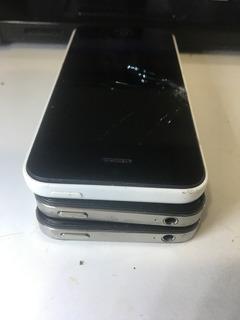 Lote De iPhone 5c,4s-3 Iphones - Retirada De Peças