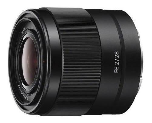 Lente Sony Fe 28mm F2 | Garantia + Nf
