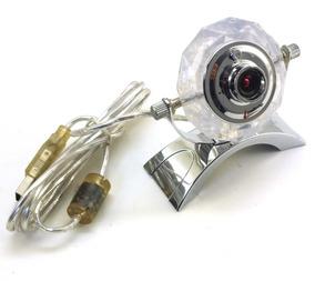 Webcam Leadership Transparente Com Suporte Cromado A2716