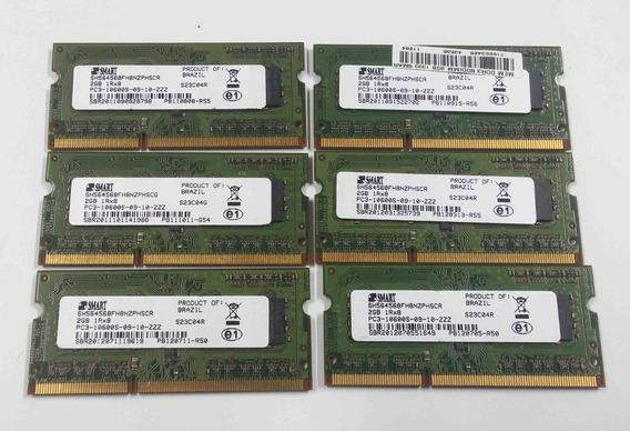 Memoria P/notebook Ddr3 2gb Smart 1333mhz