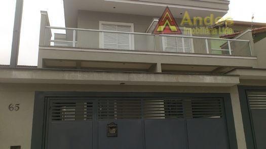 Sobrado Residencial À Venda, Vila Mazzei, São Paulo. - So0021