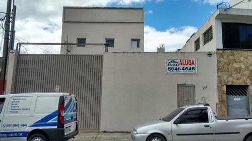 Locação Prédio Industrial/comercial - Vila Friburgo, São Paulo-sp - Rr1491