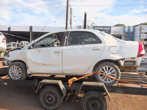 Sucata Toyota Etios 1.5 Xls 96cv  Venda De Peças