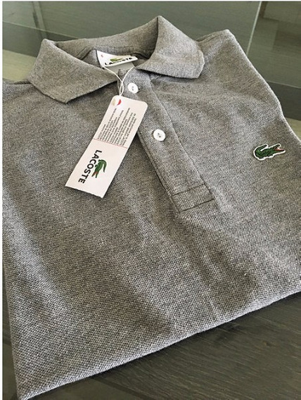 Camisa Camiseta Polo Lacoste Classic Branca Para O Reveillon