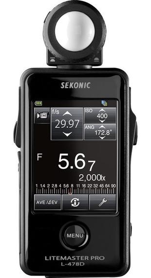 Fotômetro Sekonic Digital Litemaster Pro L-478d Touch Screen