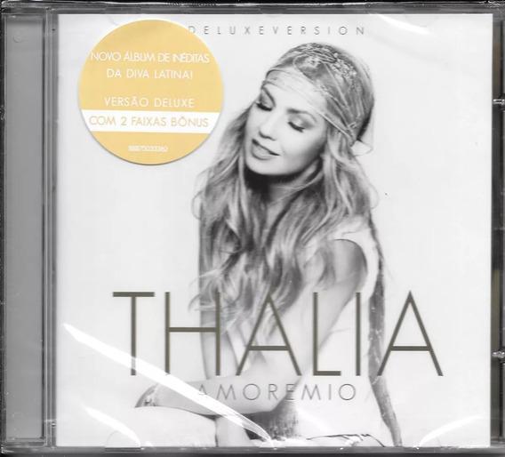 Cd Thalia - Amore Mio Deluxe Edition Lacrado