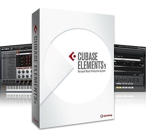 Cubase 9 Elements - Full Y Permanente Esp - Envio Inmediato!