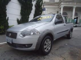 Fiat Strada 1.4 Trekking Flex 2p Prata Direção Hidr. 2009