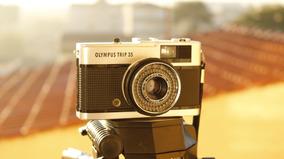 Câmera Analógica Olympus Trip 35 ( Revisada )