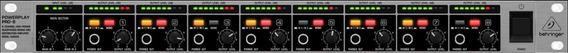 Amplificador Fone Power Play 8 Canais Behringer Ha8000