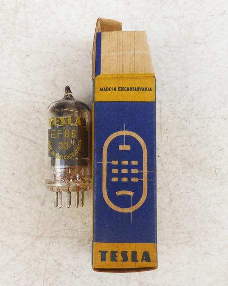 Valvula Para Rádio / Amplificador - Ef86 Tesla