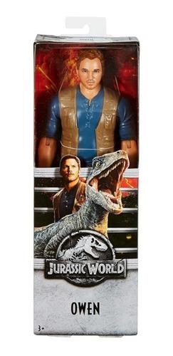 Imagen 1 de 2 de Figura Owen De Jurassic World Park Dinosaurios Juguete Acció