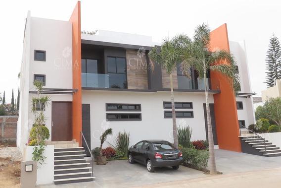 Venta Casa Nueva Con Vigilancia, Moderna Y Acabados De Lujo - V163