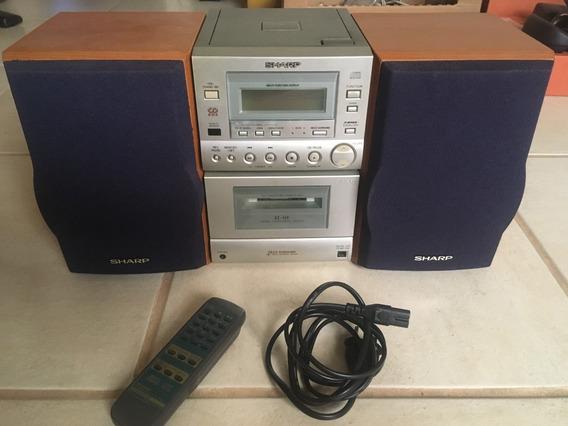 Micro System Sharp Xl-515h 80w 220v (defeito No Cd E Toca-fita)