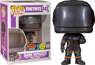 Funko Pop #442 Dark Voyager - Fortnite - 100% Original!