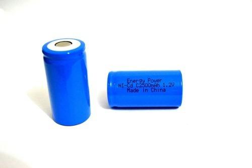Bateria C 2500mah Ni-cd 1,2v Energy Power Recarregável