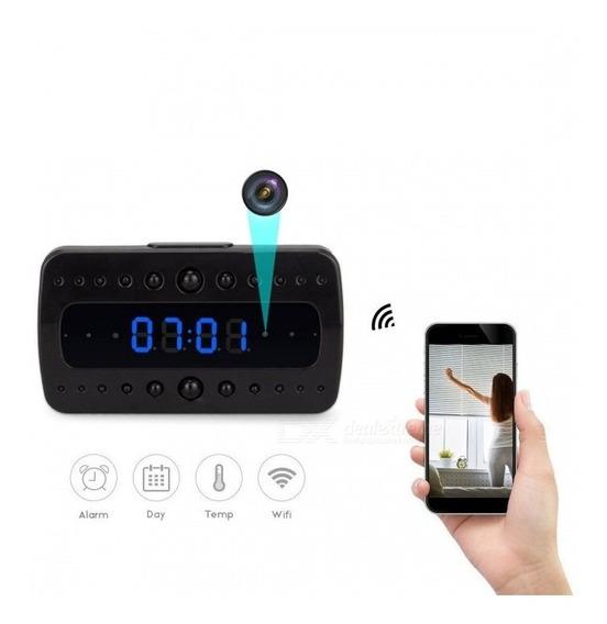Despertador De Câmera Wi-fi (plug Ue)