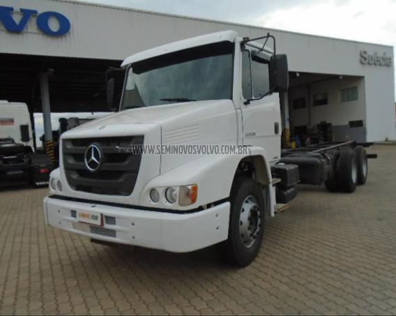 Mercedes-benz Atron 2324 6x2 Branco 2016