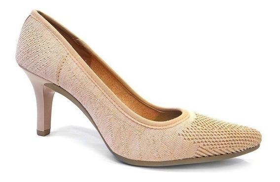 Sapato Scarpin De Lurex X7531 - Mississipi (22) - Nude