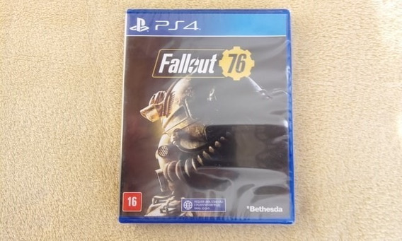 Jogo Fallout 76 Ps4 Original