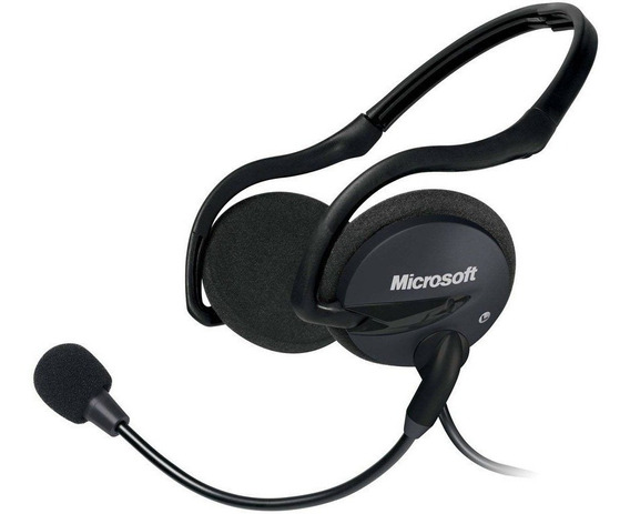 Headset Dobrável Microsoft Lifechat Lx-2000 P2