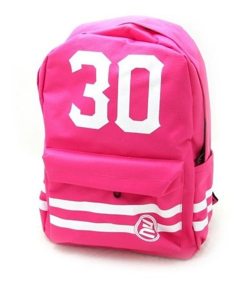 Mochila Escolar Facultad Modelo Teen Rosa 30
