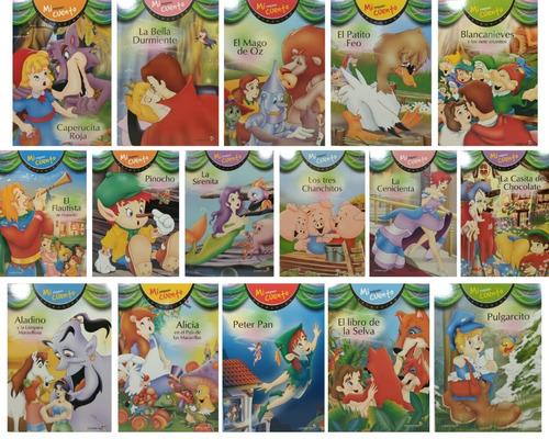 Imagen 1 de 9 de Lote 16 Libros Infantiles - Pequeños Cuentos Clasicos Betina