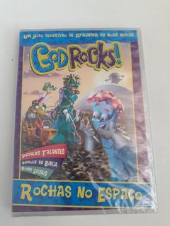 Dvd Godrocks! Rochas No Espaço - Um Jeito Divertido De Apren