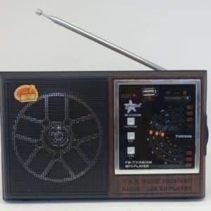 Radio Am Fm Sw Entrada Sd Usb Song Star